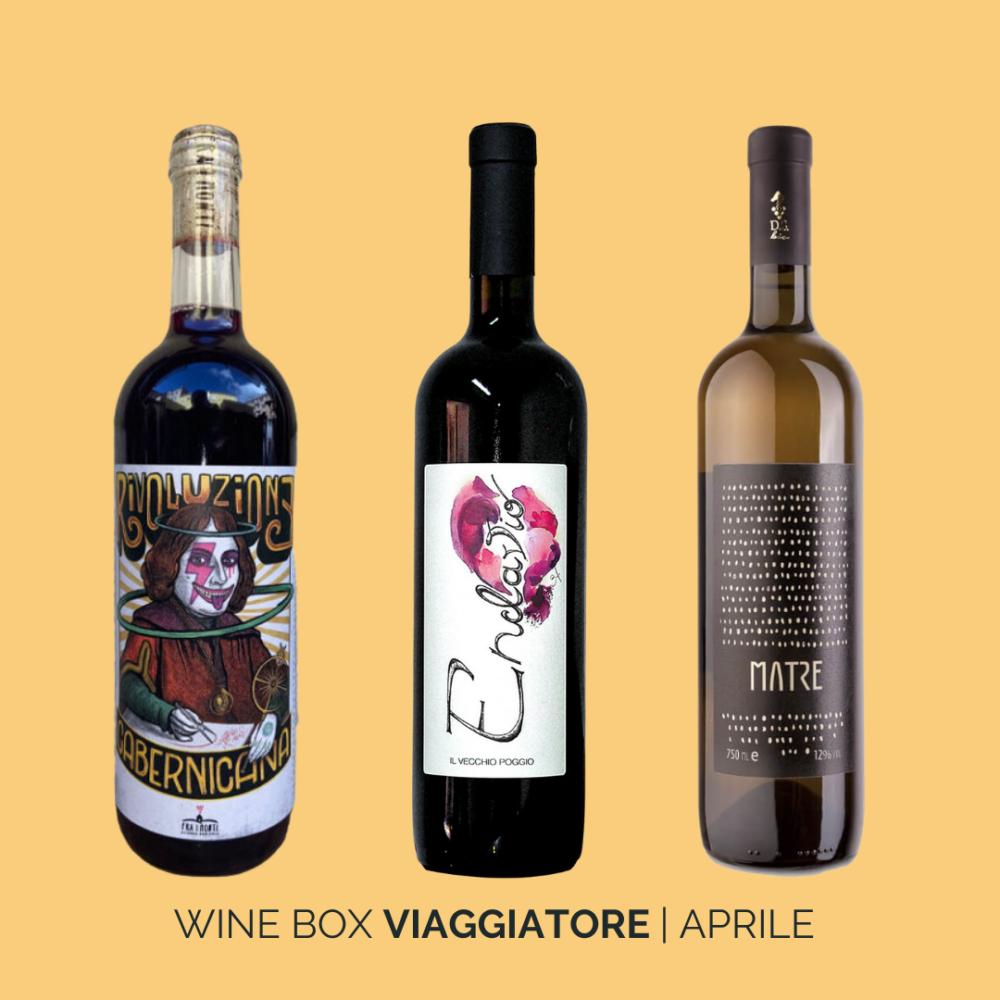 Wine Box Viaggiatore Aprile 2021